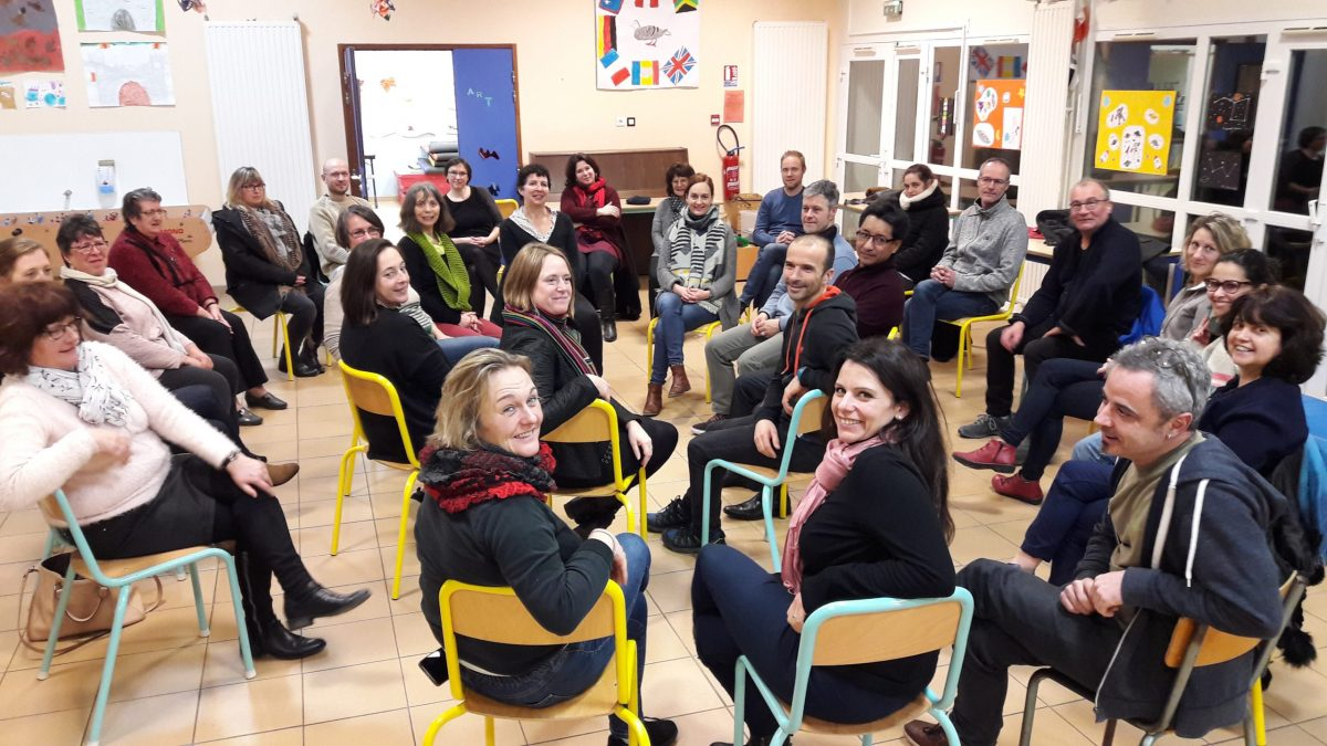 Rencontre intergroupe Sophrologie Savenay